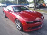 2014 Crystal Red Tintcoat Chevrolet Camaro LT Coupe #88770325