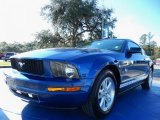 2009 Vista Blue Metallic Ford Mustang V6 Coupe #88769762