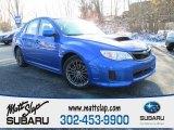 2012 WR Blue Mica Subaru Impreza WRX 4 Door #88770037