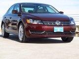 2014 Opera Red Metallic Volkswagen Passat TDI SE #88770226