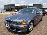 2000 Steel Blue Metallic BMW 3 Series 323i Coupe #8854451