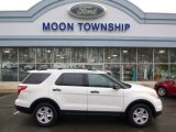 2011 White Suede Ford Explorer FWD #88769840