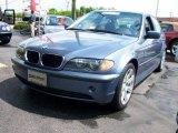 2003 Steel Blue Metallic BMW 3 Series 325i Sedan #8838962