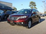 2012 Basque Red Pearl II Honda CR-V EX-L #88769662