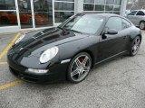 2007 Black Porsche 911 Carrera 4S Coupe #87858