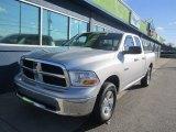 2009 Bright Silver Metallic Dodge Ram 1500 ST Quad Cab 4x4 #88770300