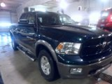 2011 Hunter Green Pearl Dodge Ram 1500 SLT Outdoorsman Quad Cab 4x4 #88770295