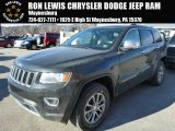 2014 Black Forest Green Pearl Jeep Grand Cherokee Limited 4x4 #88769931