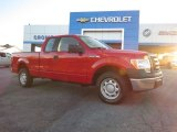 2010 Vermillion Red Ford F150 XL SuperCab #88770008