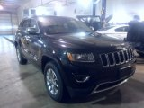 2014 Brilliant Black Crystal Pearl Jeep Grand Cherokee Limited 4x4 #88770283
