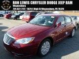 2014 Deep Cherry Red Crystal Pearl Chrysler 200 Touring Sedan #88769924