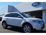 2014 White Platinum Ford Edge Limited #88769812