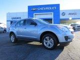 2014 Silver Topaz Metallic Chevrolet Equinox LS #88769998