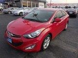 2013 Red Hyundai Elantra Coupe SE #88769713