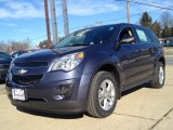 2014 Atlantis Blue Metallic Chevrolet Equinox LS #88769802