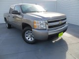 2007 Graystone Metallic Chevrolet Silverado 1500 LS Crew Cab #88769971