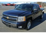 2011 Imperial Blue Metallic Chevrolet Silverado 1500 LT Extended Cab #88770161