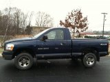 2006 Patriot Blue Pearl Dodge Ram 1500 ST Regular Cab 4x4 #88818400