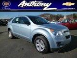 2014 Silver Topaz Metallic Chevrolet Equinox LS AWD #88818584