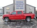 2014 Victory Red Chevrolet Silverado 1500 LT Crew Cab 4x4 #88818669
