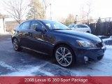 2008 Black Sapphire Pearl Lexus IS 350 #88818306