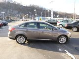 2012 Sterling Grey Metallic Ford Focus SEL Sedan #88818116
