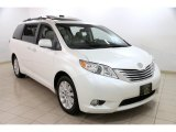 2011 Blizzard White Pearl Toyota Sienna Limited AWD #88818483