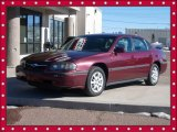 2001 Dark Carmine Red Metallic Chevrolet Impala LS #88818302