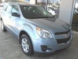 2014 Silver Topaz Metallic Chevrolet Equinox LS #88818663