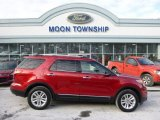 2011 Red Candy Metallic Ford Explorer XLT 4WD #88818290