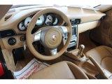 2007 Porsche 911 Carrera Coupe Sand Beige Interior
