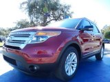 2014 Ruby Red Ford Explorer XLT #88818100