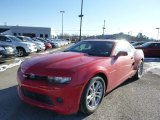 2014 Red Hot Chevrolet Camaro LS Coupe #88818282