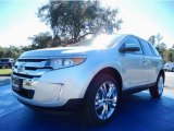 2014 Ingot Silver Ford Edge SEL #88818093