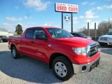 2010 Radiant Red Toyota Tundra Double Cab 4x4 #88818559
