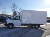 2014 Summit White Chevrolet Express Cutaway 3500 Moving Van #88818642