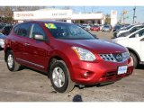 2012 Cayenne Red Nissan Rogue S Special Edition AWD #88818252