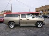2008 Light Khaki Metallic Dodge Ram 1500 SLT Quad Cab 4x4 #88818131