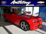 2014 Red Hot Chevrolet Camaro LT/RS Convertible #88818587