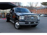 2005 Black Ford F350 Super Duty XLT Crew Cab 4x4 Dually #88817984