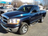 2006 Patriot Blue Pearl Dodge Ram 1500 SLT Regular Cab 4x4 #88818514