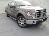 2014 Sterling Grey Ford F150 Lariat SuperCrew 4x4 #88818322