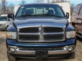 Patriot Blue Pearl Dodge Ram 1500 in 2003
