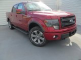 2013 Ruby Red Metallic Ford F150 FX4 SuperCrew 4x4 #88818315