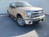 2013 Pale Adobe Metallic Ford F150 XLT SuperCrew #88818312