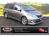 2012 Predawn Gray Mica Toyota Sienna SE #88865830