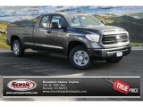 2014 Magnetic Gray Metallic Toyota Tundra SR5 Double Cab 4x4 #88865823