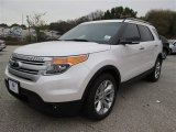 2014 White Platinum Ford Explorer XLT #88865894