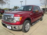 2013 Ruby Red Metallic Ford F150 XLT SuperCrew #88865886