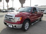 2013 Ruby Red Metallic Ford F150 XLT SuperCrew #88865885